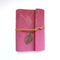 Zápisník Leaf fialový
