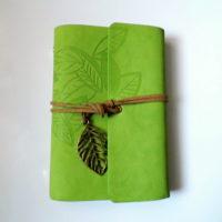 Zápisník Leaf zelený