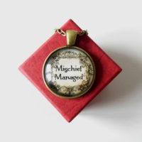 Přívěsek Mischief Managed II