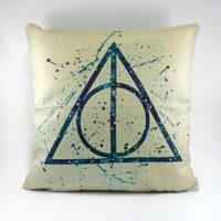 Povlak Deathly Hallows Aqua