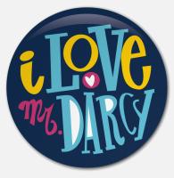 Placka I Love Mr. Darcy