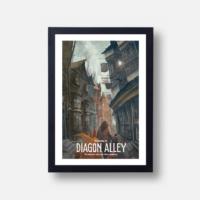 Plakát Diagon Alley