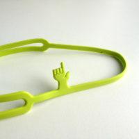 Záložka Pointing Finger (zelená)