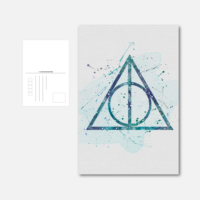 Pohlednice Deathly Hallows