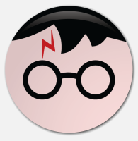 Placka Harry Potter