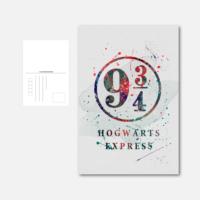 Pohlednice Hogwarts Express