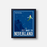 Plakát Fly Away to Neverland