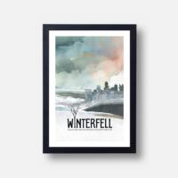 Plakát Winterfell