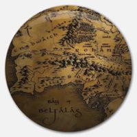 Placka Mapa pobřeží