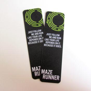 Záložka Maze Runner