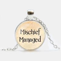 Přívěsek Mischief Managed