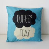 Povlak na polštář Coffee? Tea?