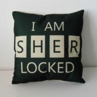 Povlak na polštář I Am Sherlocked