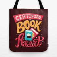 Taška Certified Book Addict