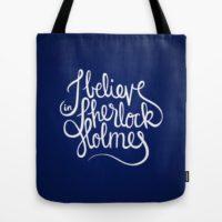 Taška I Believe in Sherlock Holmes