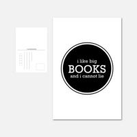 Pohlednice I Like Big Books