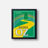 Plakát Discover Oz