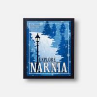 Plakát Explore Narnia