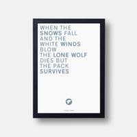 Plakát Citát Eddarda Starka