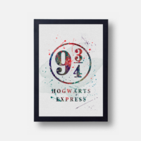 Plakát Hogwarts Express