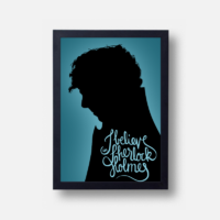 Plakát I Believe in Sherlock Holmes