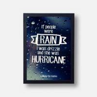 Plakát If People Were Rain