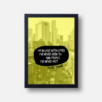 Plakát Paper Towns (citát)