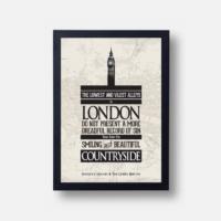 Plakát Sherlock Holmes - Citát