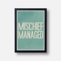 Plakát Mischief Managed
