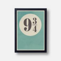 Plakát Platform 9 3/4
